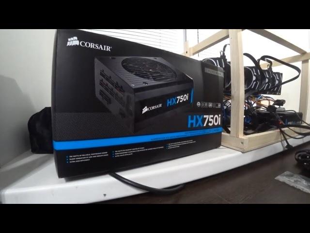 Обзор Corsair HX750i и тест в майнинге