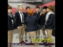 """BTS official on Instagram: """"Taehyung ultimate slap 😂"""""""