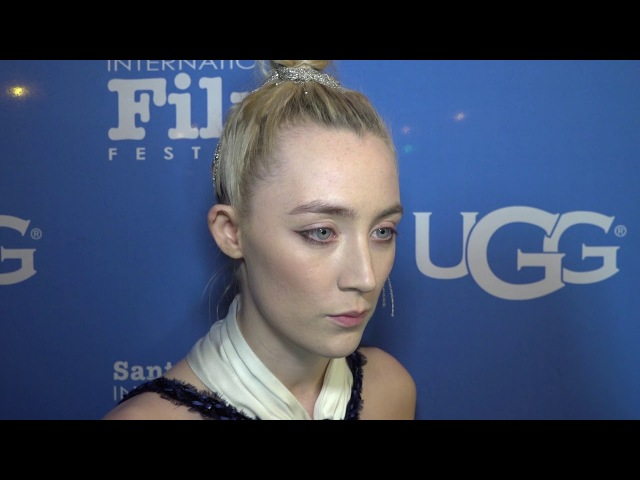 SBIFF 2018 Saoirse Ronan Santa Barbara Award Red Carpet Interview