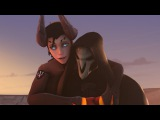 When Mercy fall in love with Reaper-OverwatchSFM