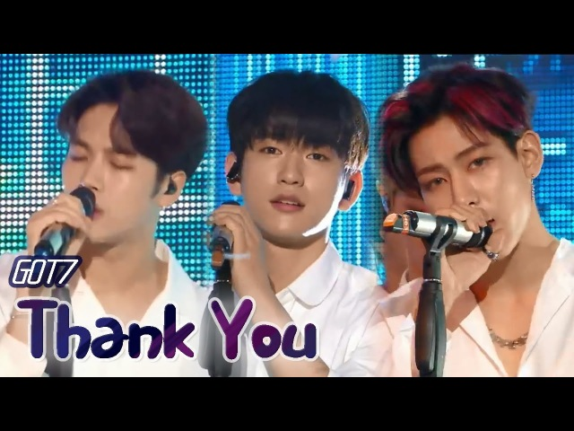 Comeback Stage GOT7 Thank You 갓세븐 고마워 Show Music core 20180317