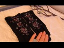 Зимние украшения -шапочка и перчатки от Ксении