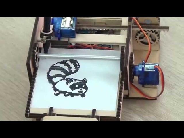 DIY Printing tiny images using Arduino Uno