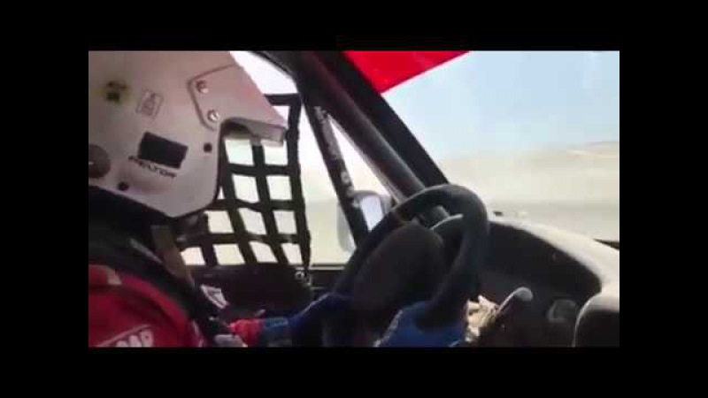 Дакар 2018 | Камаз обгоняет соперников на скорости 208 км/ч как стоячих!