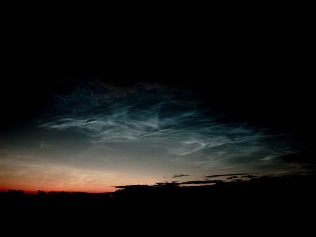 Серебристые облака (Село Бисерово Кировской области 15.07.16)