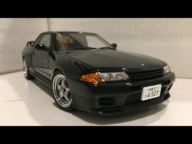118 Autoart Nissan Skyline GT-R (R32) Initial D Legend2