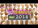 50 Peinados Faciles y Rapidos con Trenzas para este 2018 de Fiestas Niñas Graduacion