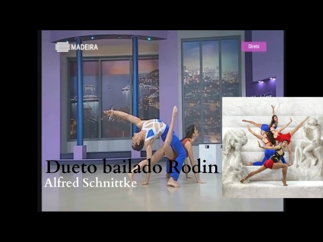 Dueto bailado Rodin - Alfred Schnittke - companhiadedancaMBT