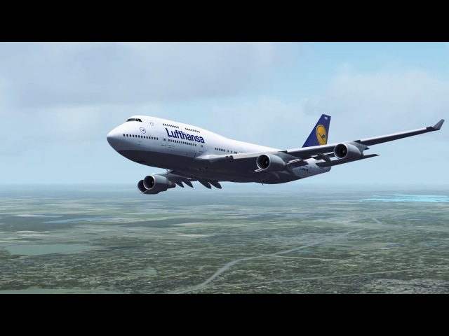 Best FSX P3D Flight Video 39 [FSX] (FRANKFURT HOUSTON)