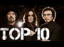 TOP 10 Black sabbath ( songs - canciones )