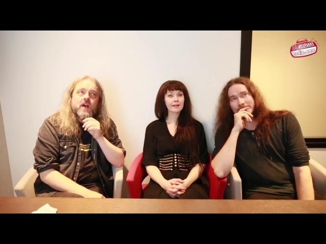 Auri - Interview de Tuomas Holopainen (Nightwish), Troy Donockley (Nightwish) et Johanna Kurkela