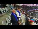 Leonid Yakuboviç Qarabağ ımızın oyununu stadionda canlı izləyib komandamıza dəstək oldu