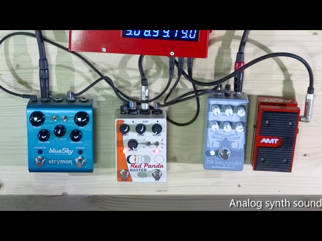 Guitar like a analog synth EarthQuaker Devices Bit Commander