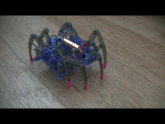 Детский конструктор робот-паук