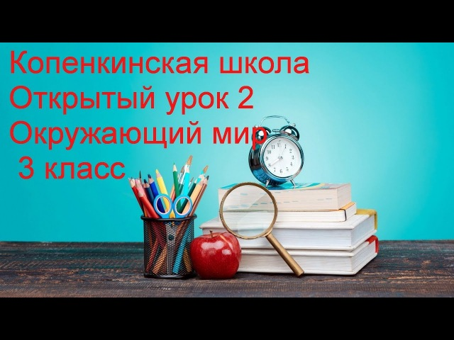 Кпенкинская школа. Открытый урок 2. Окружающий мир. 3 класс