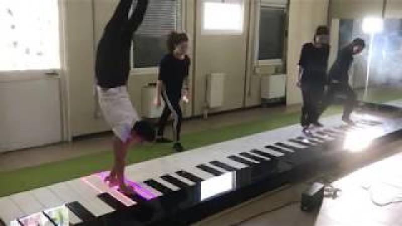Monster Piano Acrobatics