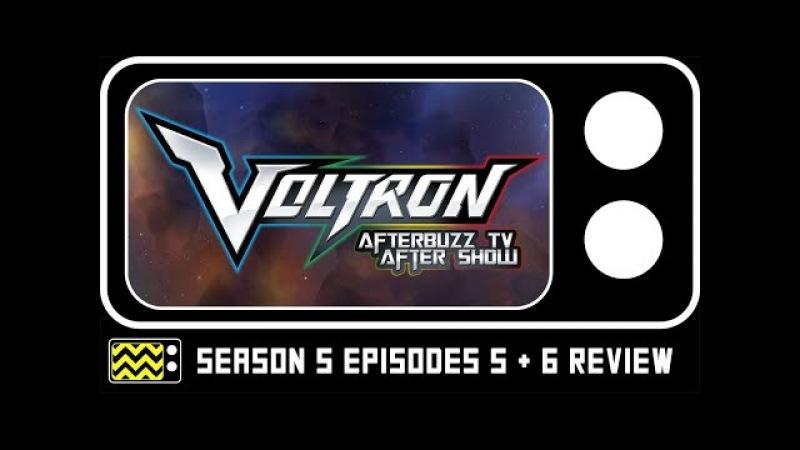 Voltron Legendary Defender Season 5 Episodes 5 6 Review w/ Josh Keaton Kimberly Brooks
