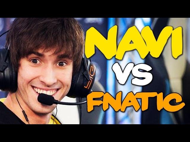 NAVI vs FNATIC - ONE OF THE BEST GAMES IN 2018! GESC DOTA 2