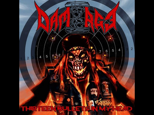 MetalRus.ru (Thrash Metal). DAM-AGE — «Thirteen Bullets In My Head» (2018) [EP] [Full Album]