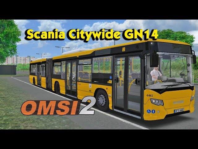 Автобус Scania Citywide GN14 для OMSI 2