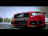 Audi A4 B7 Avant Briliant Red 19 Air Ride