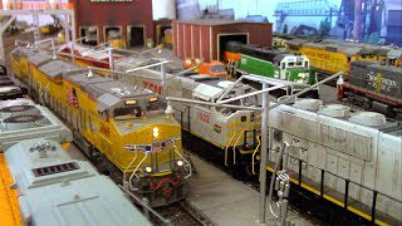 HO Scale OPs: Enterprise Locomotive Facility (pt. 2)