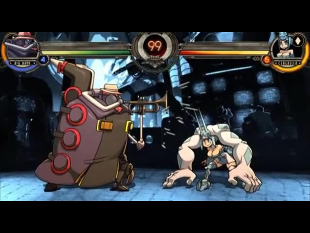 Skullgirls- is that a jojo reference
