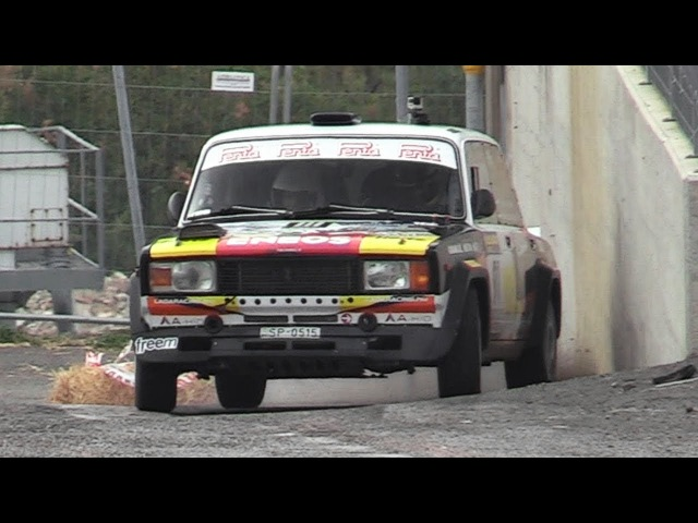 Lada's on fire at Rally Legend Always Sideways Show Jumps Lada VFTS 2101 2107