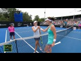 CiCi Bellis v Agnieszka Radwańska Match Highlights (R2) | Sydney International 2018