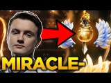 Miracle- NEW MMR Calibration! Road to Full Divine Rank with Morphling - Dota 2