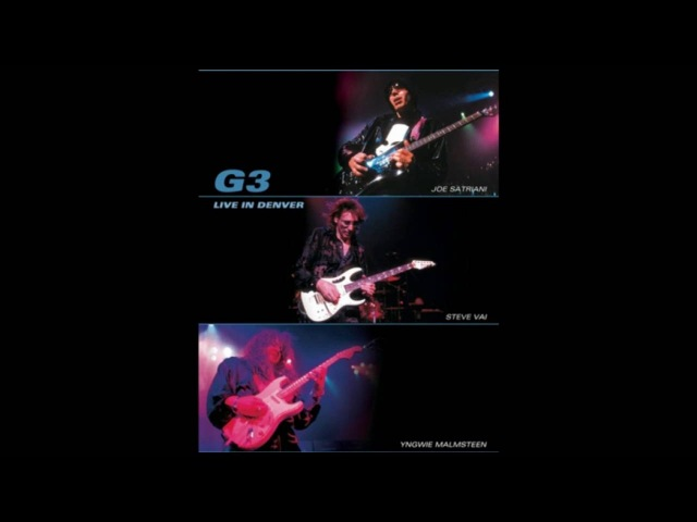 G3 Live in Denver - Joe Satriani, Steve Vai, Yngwie Malmsteen 2003 - Full Concert MP3