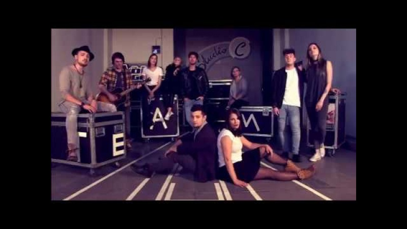 Team Samu mit Fairytale Gone Bad (cover Sunrise Avenue) © Pro7/Sat1
