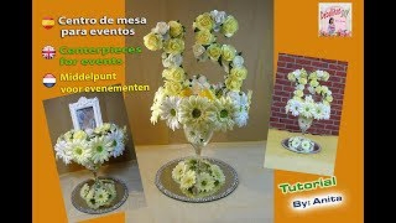 Decoración de mesa para eventos Table decoration Tafeldecoratie