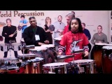 Remo Booth NAMM 2011, Taylor Moore and gang on drums
