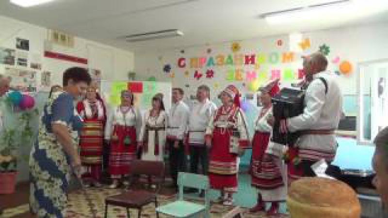 Народный хор Масторава (Калина) 29.07.17 в ДК села Нижнее Ягодное