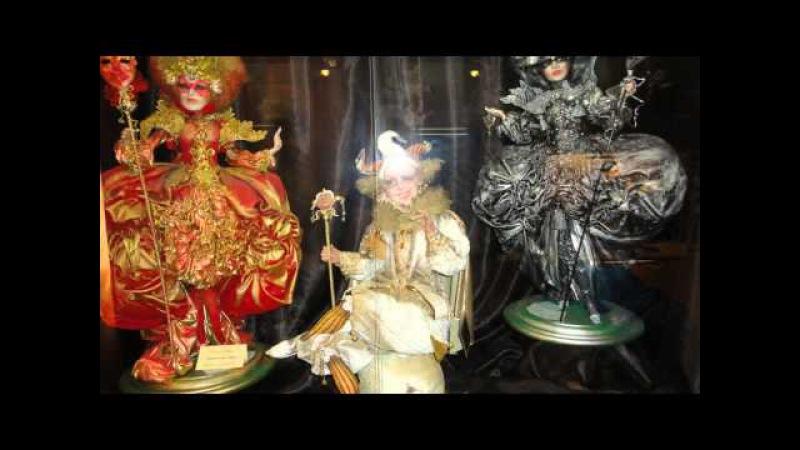Doll galery, miniature kingdom. Preili, Latvia 2013.g.(Галлерея кукол, миниатюрное королевство)