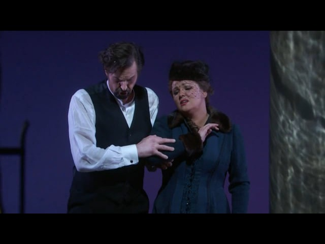 Eugene Onegin Act 3 Scene 2 - Anna Netrebko and Peter Mattei