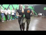 Юрий Гаврилов и Дарья - Кизомба - Новосибирск | Yuri & Daria - KIZOMBA DEMO - Lady In Red (DA TEAM)