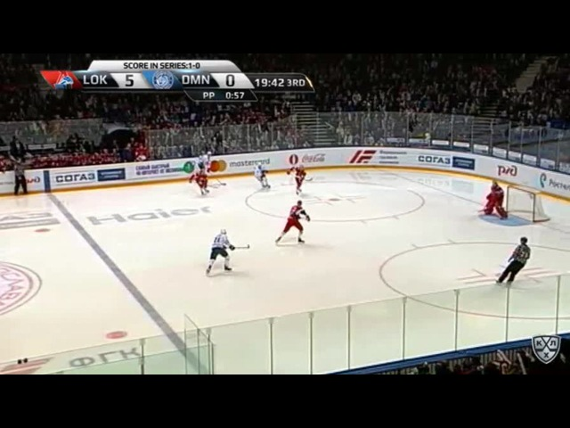 Моменты из матчей КХЛ сезона 16/17 • Гол. 6:0. Андрей Локтионов (Локомотив) отличился в меньшинстве 23.02