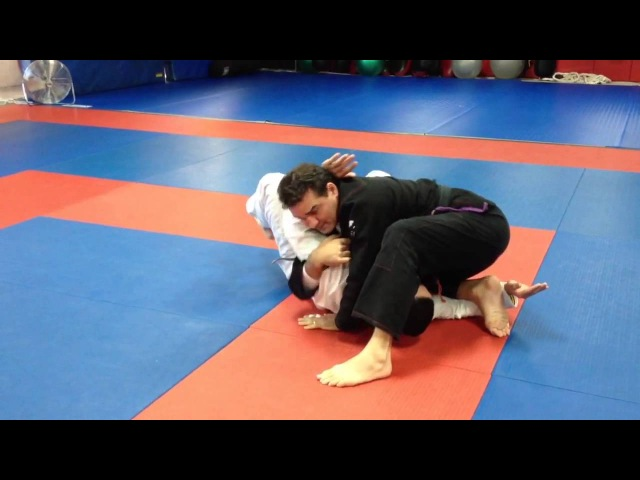 Dion Watts inverted triangle variation from top side control