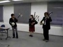 Scotland the Brave- Shamisen and Bagpipe.