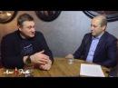 Сергей Миронов и главный московский колбасник Андрей Куспиц
