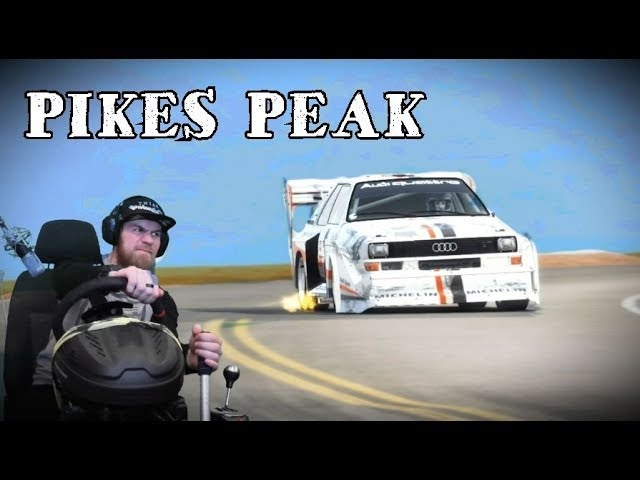 Dirt Rally - Pikes Peak на Audi Quattro
