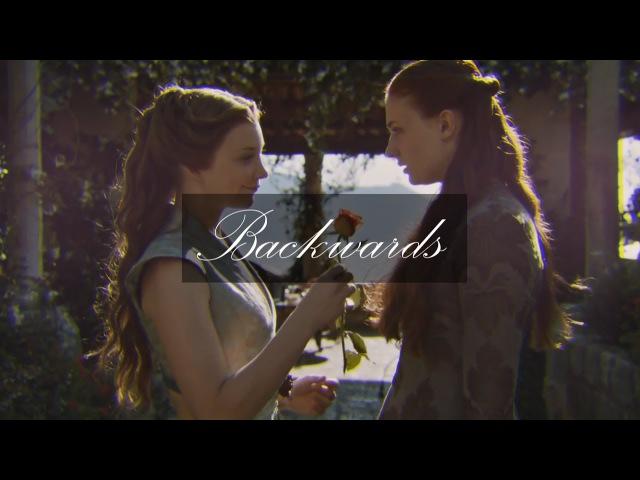 Sansa margaery   only go backwards