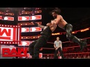 Roman Reigns vs. Seth Rollins - Seven-Man Gauntlet Match Part 1 Raw, Feb. 19, 2018
