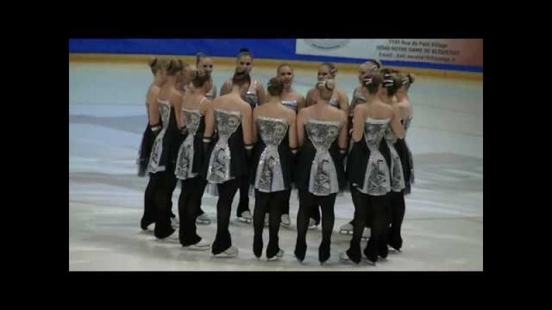 French Cup 2017 : Team Fintastic (Finlande) , programme libre junior