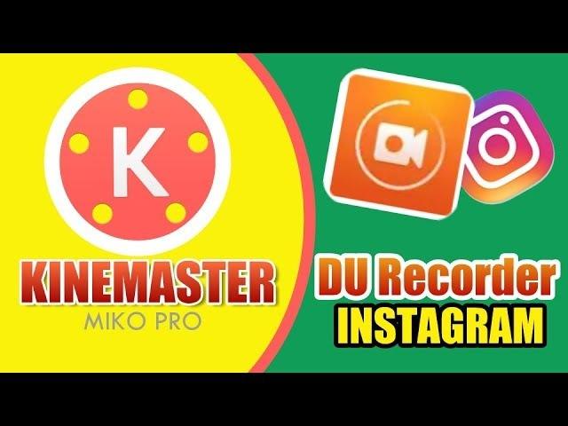 Видеоны ерекше аяқтау - KINEMASTER, Du Recorder video tutorial, қазақша мобильді видео монтаж