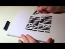 Parallel Pen Всем не угодишь старославянская каллиграфия