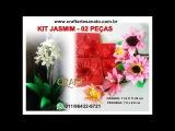 Como usar o frisador Jasmim - 06 flores com o mesmo frisador - Prof. Andréia Craft