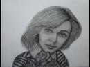 Юлия 11 портрет карандашом